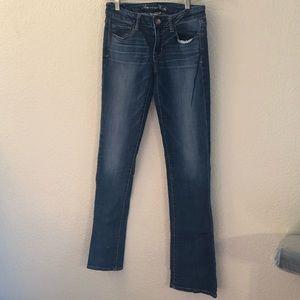 AE Skinny Kick Jeans 6XL (to wear with heels)